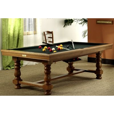 billard table belle ile ch ne 240 cm montfort. Black Bedroom Furniture Sets. Home Design Ideas