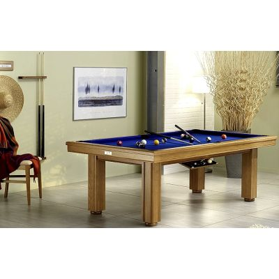 billard table mayotte bois exotique 220 cm montfort. Black Bedroom Furniture Sets. Home Design Ideas