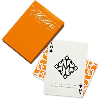 Cartes Bicycle Madison Hustlers orange �dition limit�e (Ellusion