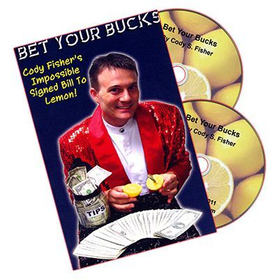 "DVD ""Bet Your Bucks"" Cody Fisher"