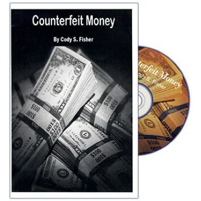 "DVD ""Counterfeit Money"" (avec gimmick) Cody Fisher"