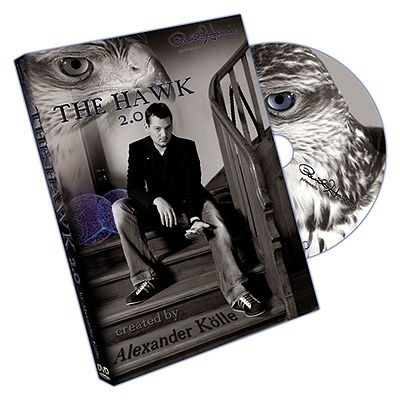 "DVD ""The Hawk 2.0"" (avec Gimmicks) Alexander Kolle"