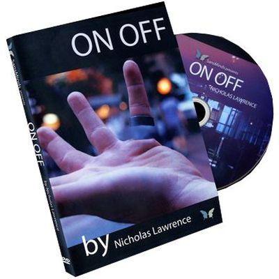 "DVD ""On/Off"" Nicholas Lawrence et SansMinds"