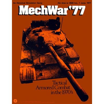 MechWar '77 (1975) SPI Simulations Publications Inc Board Game