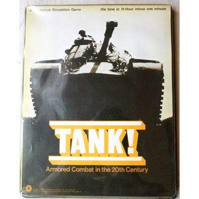 Tank! Armored Combat in the 20th Century (1974) SPI Simulations
