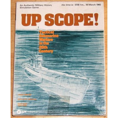 Up Scope! (1978) SPI Simulations Publications Inc Board Game