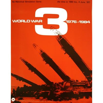 World War 3 (1975) SPI Simulations Publications Inc Board Game