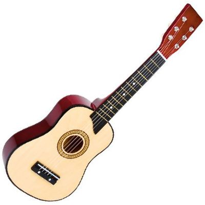 Guitare en bois enfant accordable (64 cm)