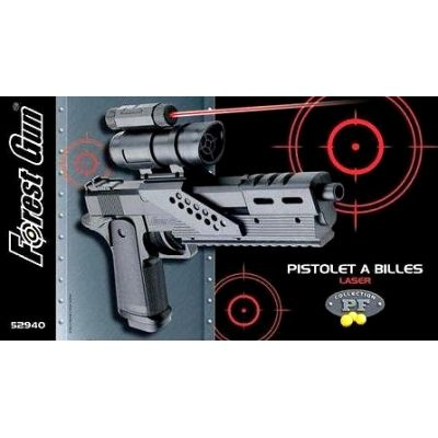 pistolet billes viseur laser 52940 forest gun. Black Bedroom Furniture Sets. Home Design Ideas