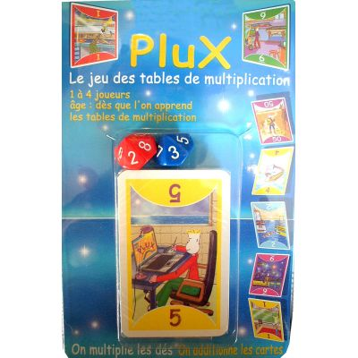 Plux: game of the tables of multiplication