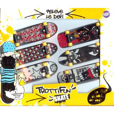Finger skate (set of 6)