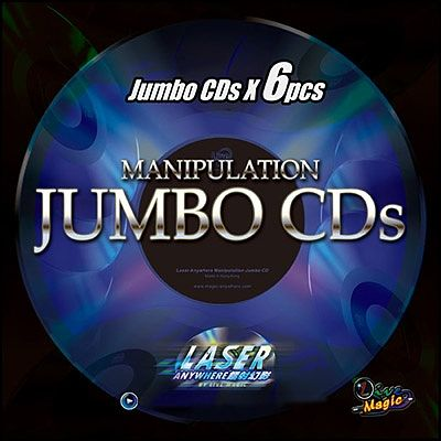 CD manipulation jumbo (set de 6)