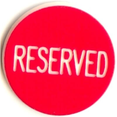 Bouton Reserved