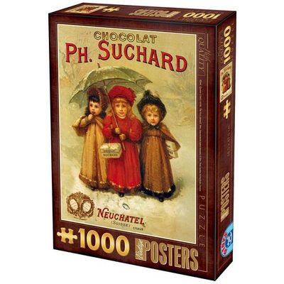 Puzzle chocolat Suchard (1000 parts)